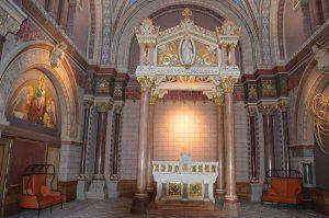 La chapelle restaurée © CIL Saint-Just