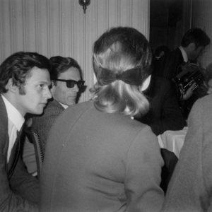 Conférence de presse de Pier Paolo Pasolini à Lyon le 4 Février 1969. © Alice Chardère