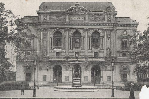 Le théâtre des Célestins vers 1910 - 4fi1202 ©Archives municipales de Lyon